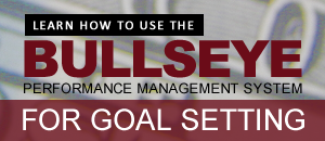 Learn how to use the Bullseye Performance Management system for goal setting