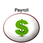 Department of Payroll logo with Dollar symbol