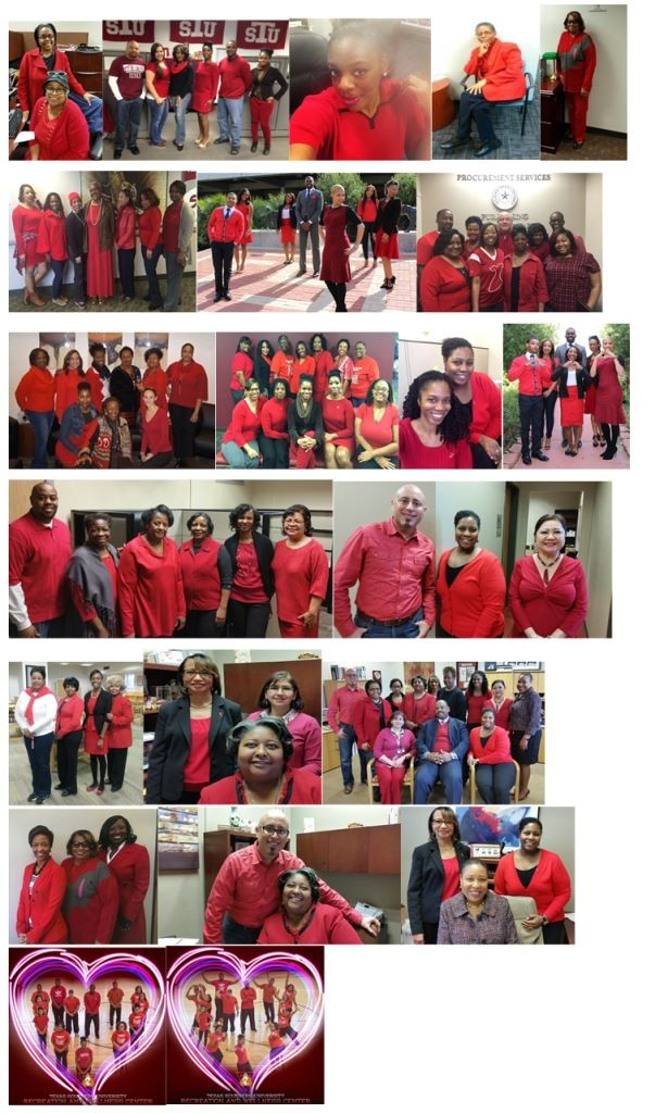 T S U Goes Red to Promote Heart Health