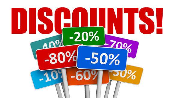 Image Represents Employee Discounts