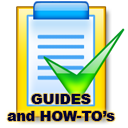 Click here for guides and How to