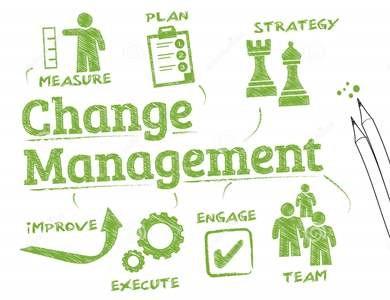 Change Management Illustration