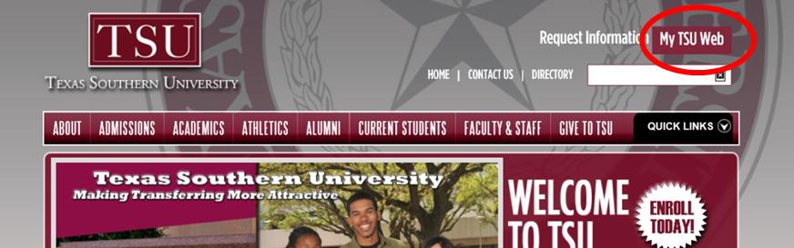 Screenshot for My T S U Web